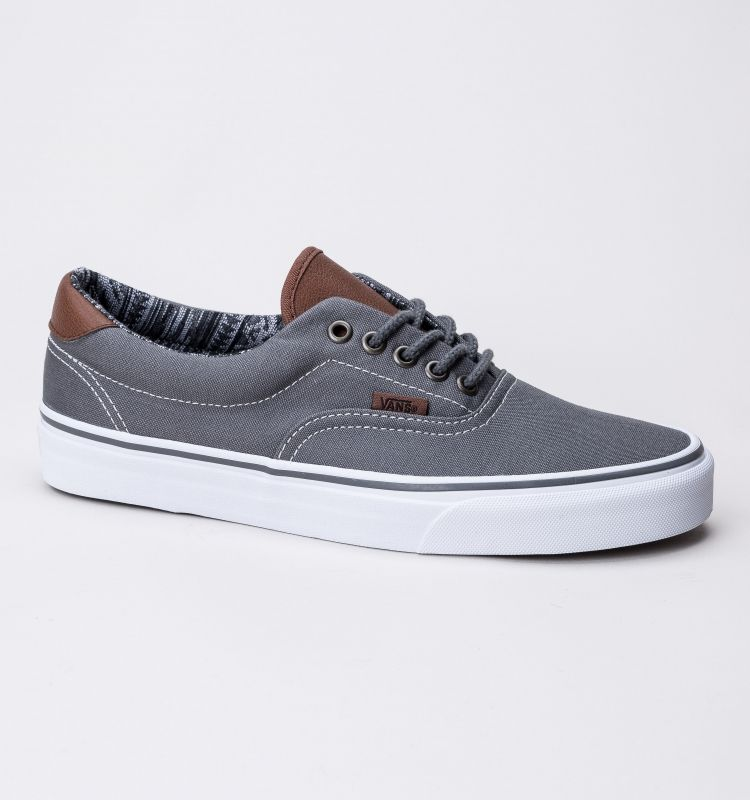 baa0b5616ad170 Vans Era 59 (C L) Trainers Pewter Italian Weave. Vans Era 59 (C L) Trainers  Pewter Italian Weave Mens Shoes Sale ...