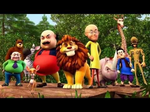 Motu Patlu In Jungle Safari Motu Patlu In Urdu And Hindi 3d
