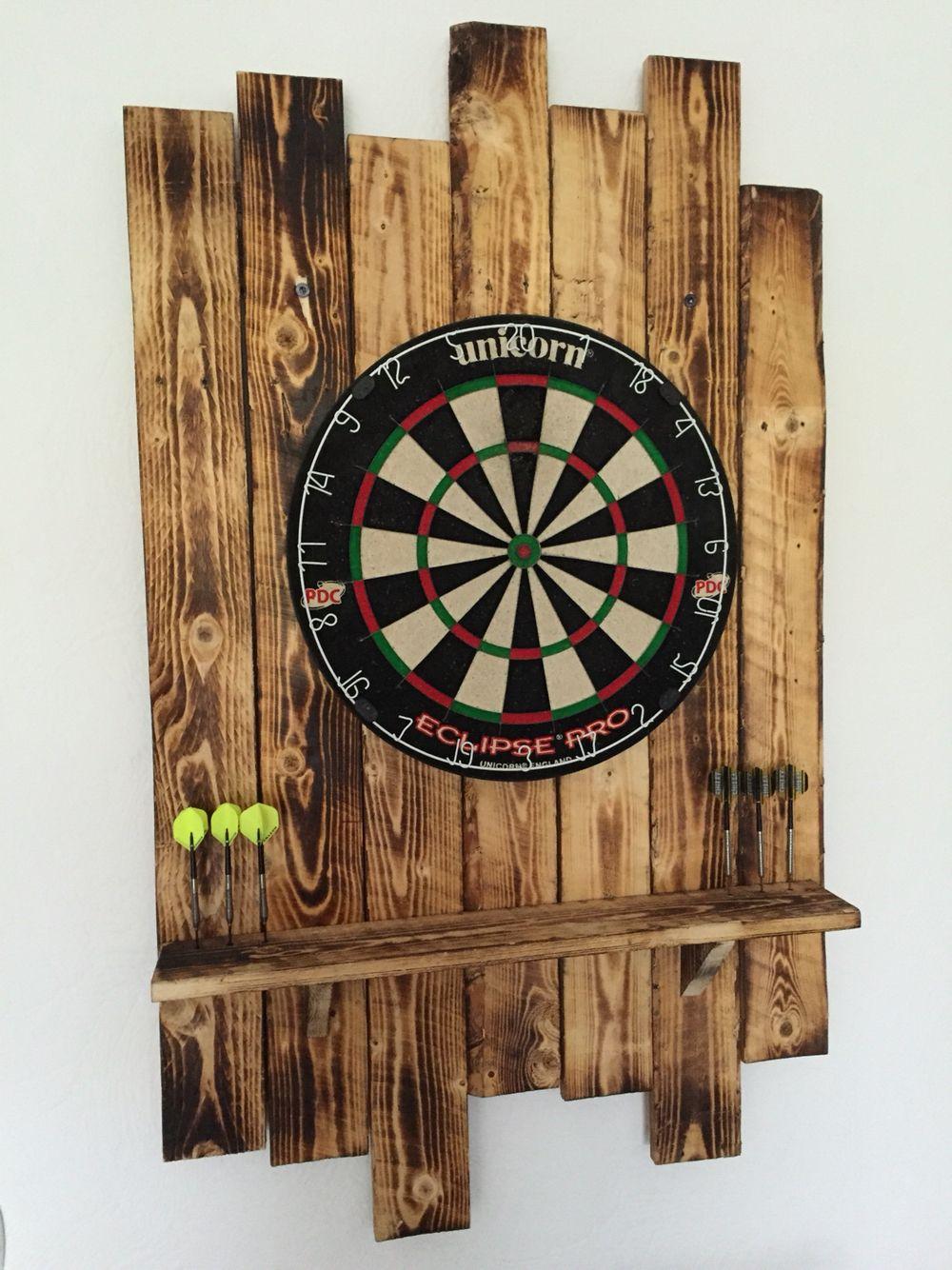 Dartboard Aus Palettenholz Eigenbau Wood Pallets Dart Board Dart Board Wall