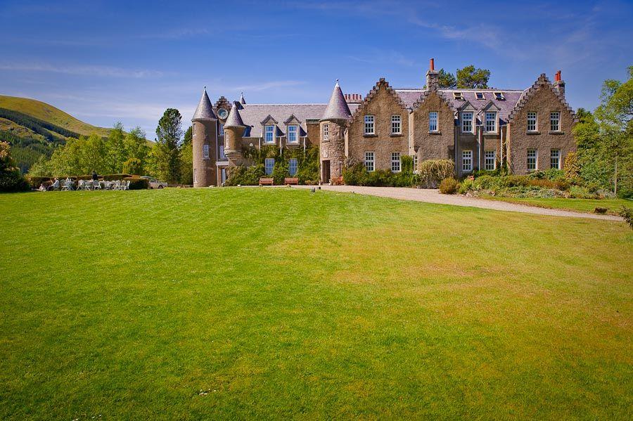 Great Scottish Wedding Venues 1 Dalmunzie Castle