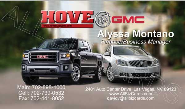 2014 Buick Gmc Business Card Id 21045 Buick Gmc Buick Gmc