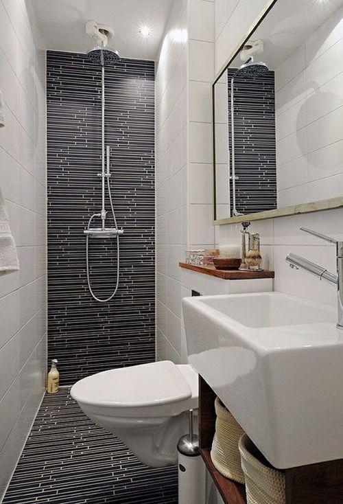 descubre sencillos consejos para la decoracin de cuartos de baos pequeos con duchas adems de ideas para generar una sensacin de amplitud - Cuartos De Bao Pequeos Con Ducha
