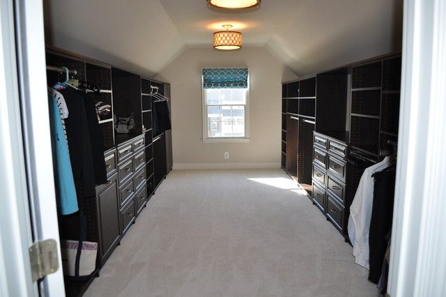 Living Room Slanted Ceiling Closet Design With Great ...