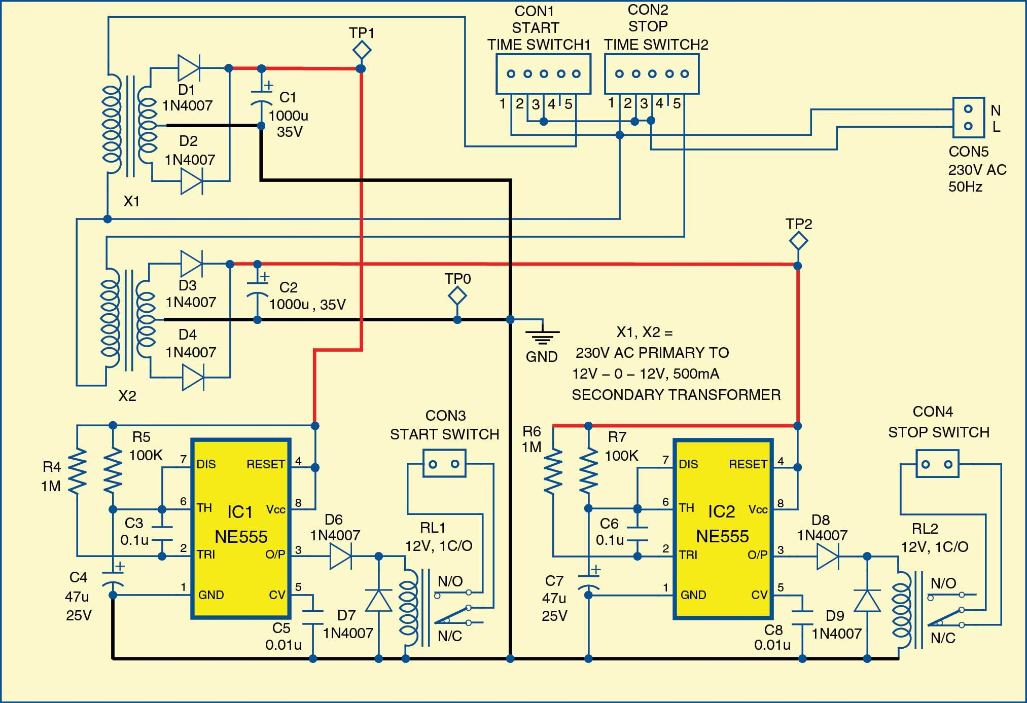 3 Phase Motor Programmable Controller