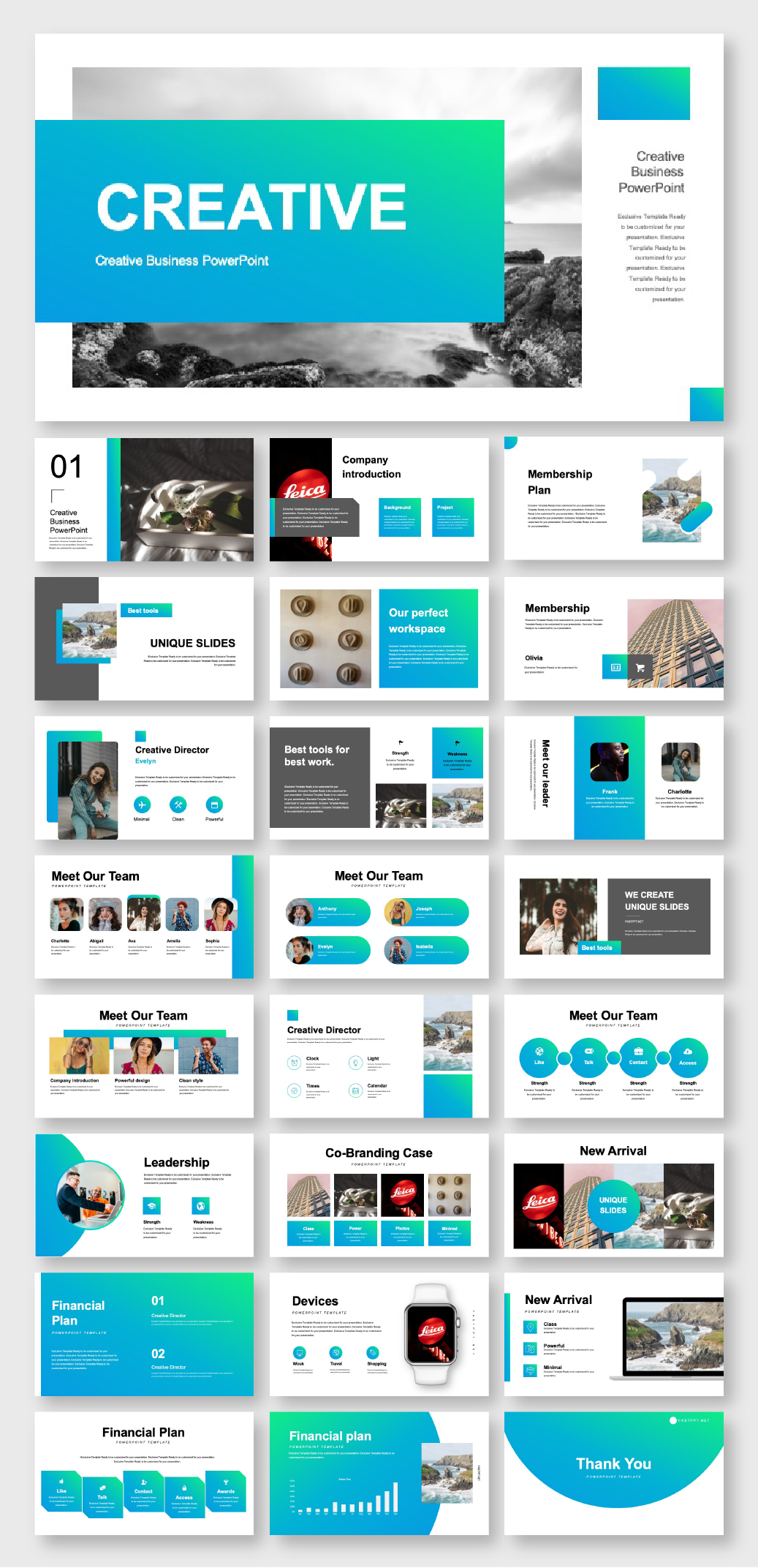 Blue Green Business Plan Powerpoint Template Original And High Quality Powerpoint Templates Powerpoint Design Templates Powerpoint Design Powerpoint Templates