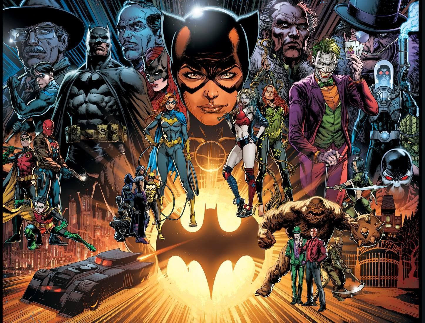 The Batman Universe by Jason Fabok -  The Batman Universe by Jason Fabok  -