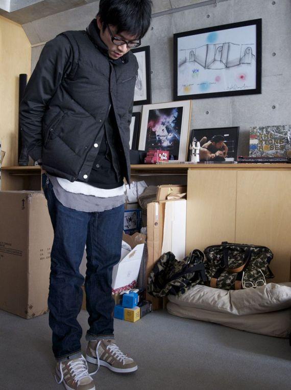... designer extraordiniare Kazuki Kuraishi has been spotted wearing the  triple-threat collaboration HOTH Skate High by Star Wars x adidas Originals  x CLOT. 2876c2d8d