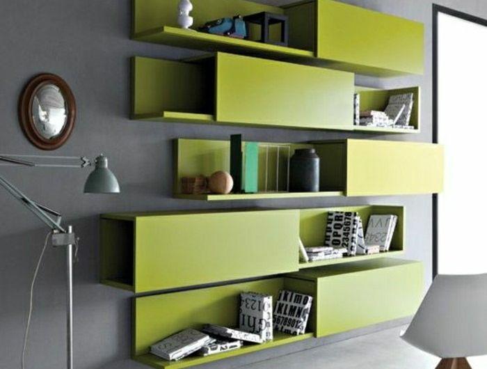 Lu0027 étagère bibliothèque, comment choisir le bon design? - mur en bois interieur
