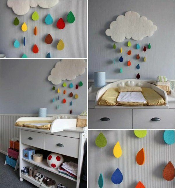 kinderzimmer deko ideen wie sie ein faszinierendes ambiente kreieren toddler art and craft. Black Bedroom Furniture Sets. Home Design Ideas