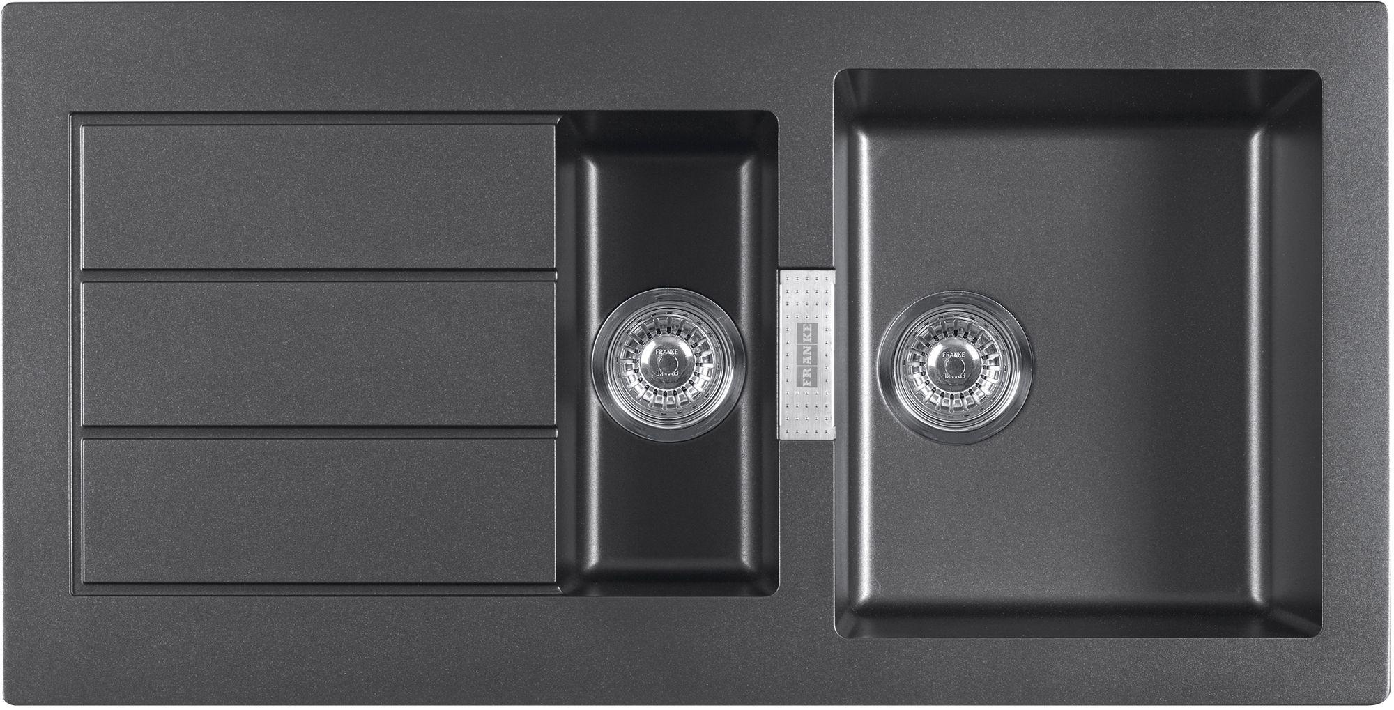 Franke Sirius 1.5 Bowl Black Composite 1.5 Kitchen Sink | Sinks ...