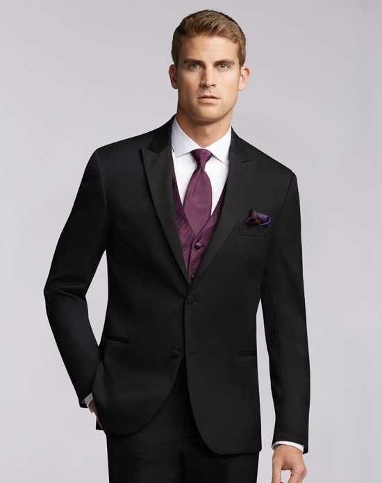 Men\'s Wearhouse Joseph Abboud® Black Tuxedo Wedding Tuxedos + Suit ...