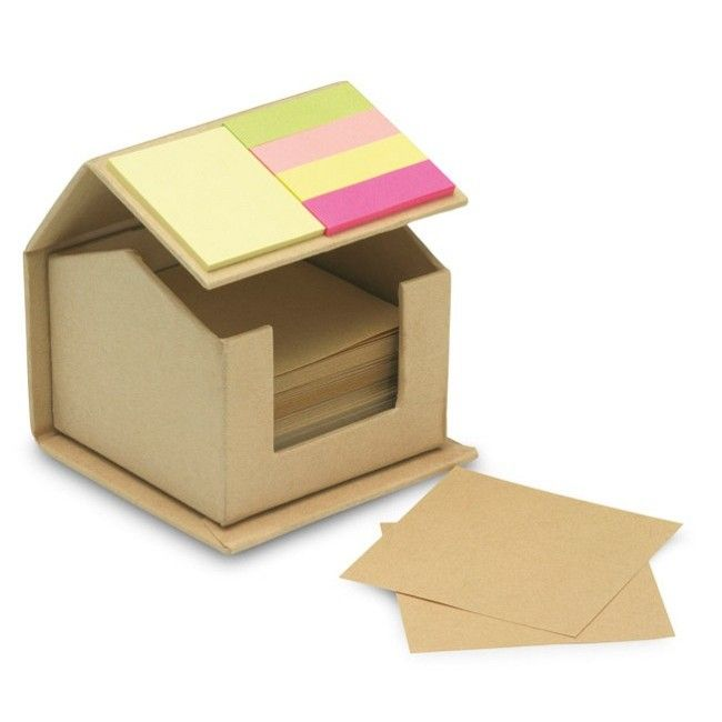 House shaped cardboard box in recycled material ...