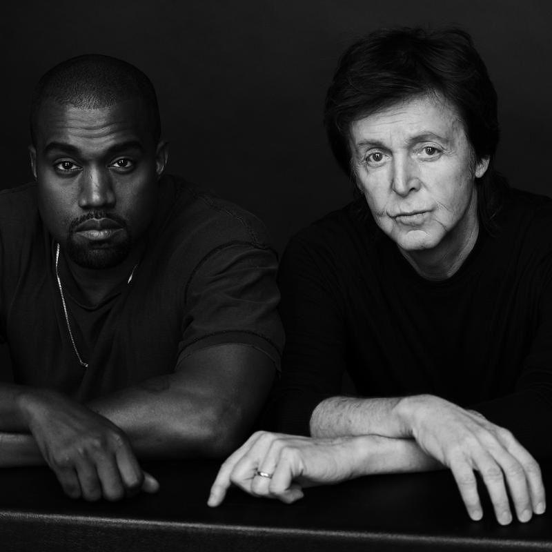 Kanye West Paul Mccartney Paul Mccartney Playlists Kanye West