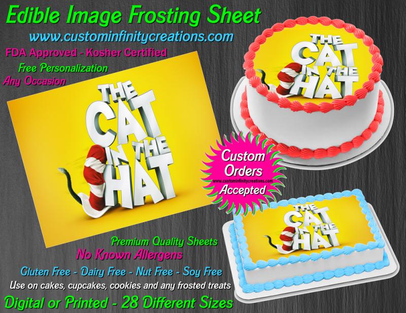 Hello Kitty Personalized Edible Print Premium Cake Topper Frosting Sheet 3 Sizes