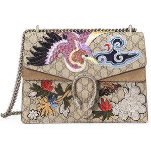 5f1d88a13f912 Gucci Dionysus Medium Bird Embroidered Shoulder Bag   Bags (segura ...
