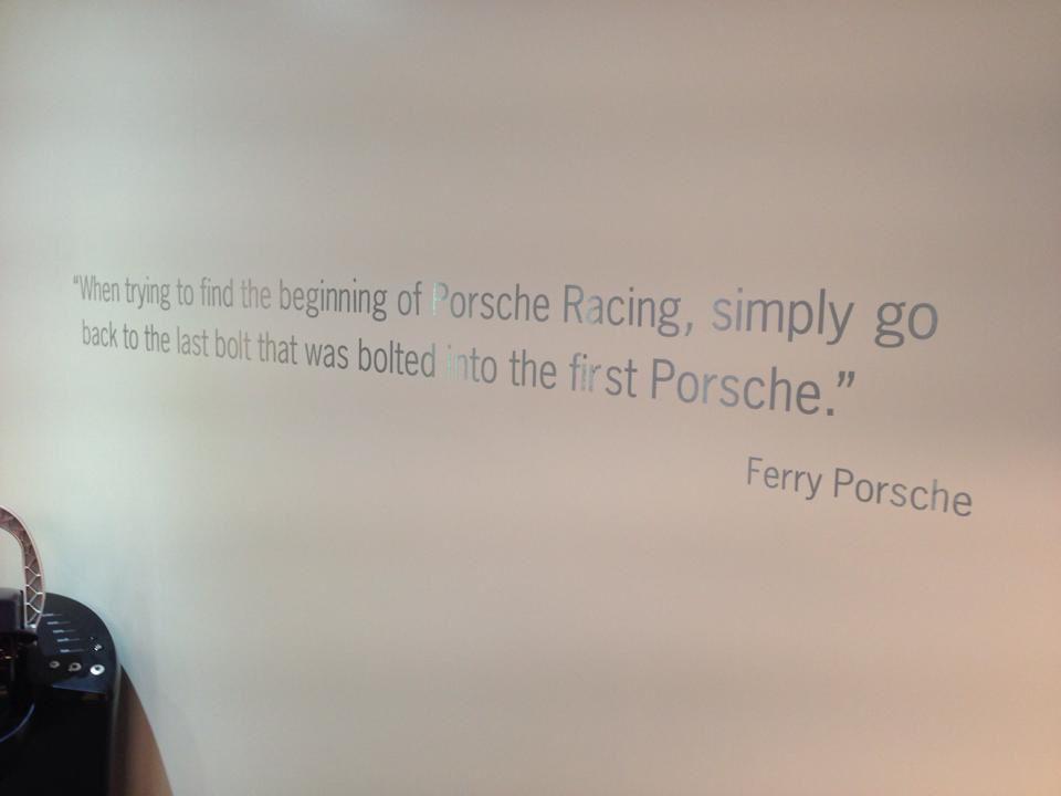 Ferry Porsche quote