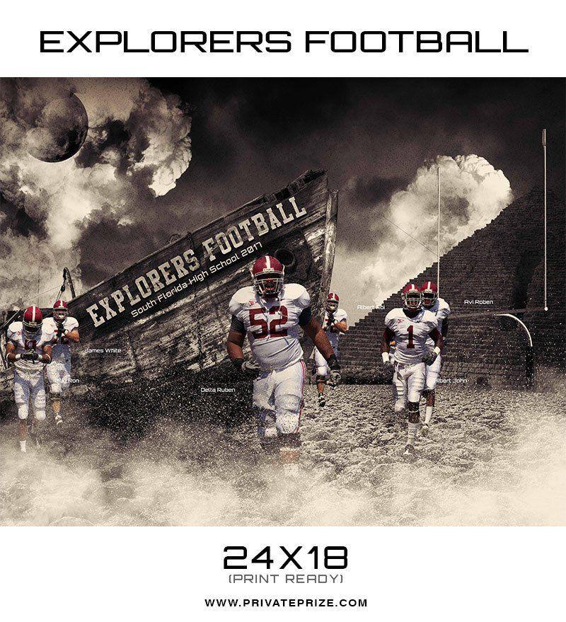 Explorers Sports Photoshop Template Explorer Sport Photography Templates Photoshop