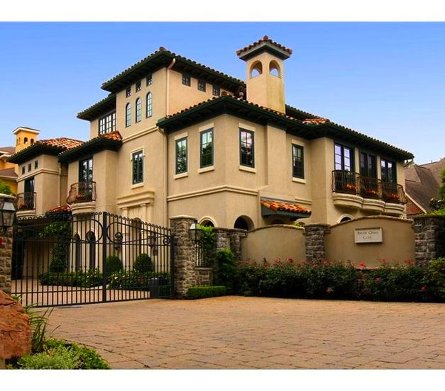 15 Utterly Luxurious Mediterranean Mansion Exterior: Homes - Mediterranean Mansion