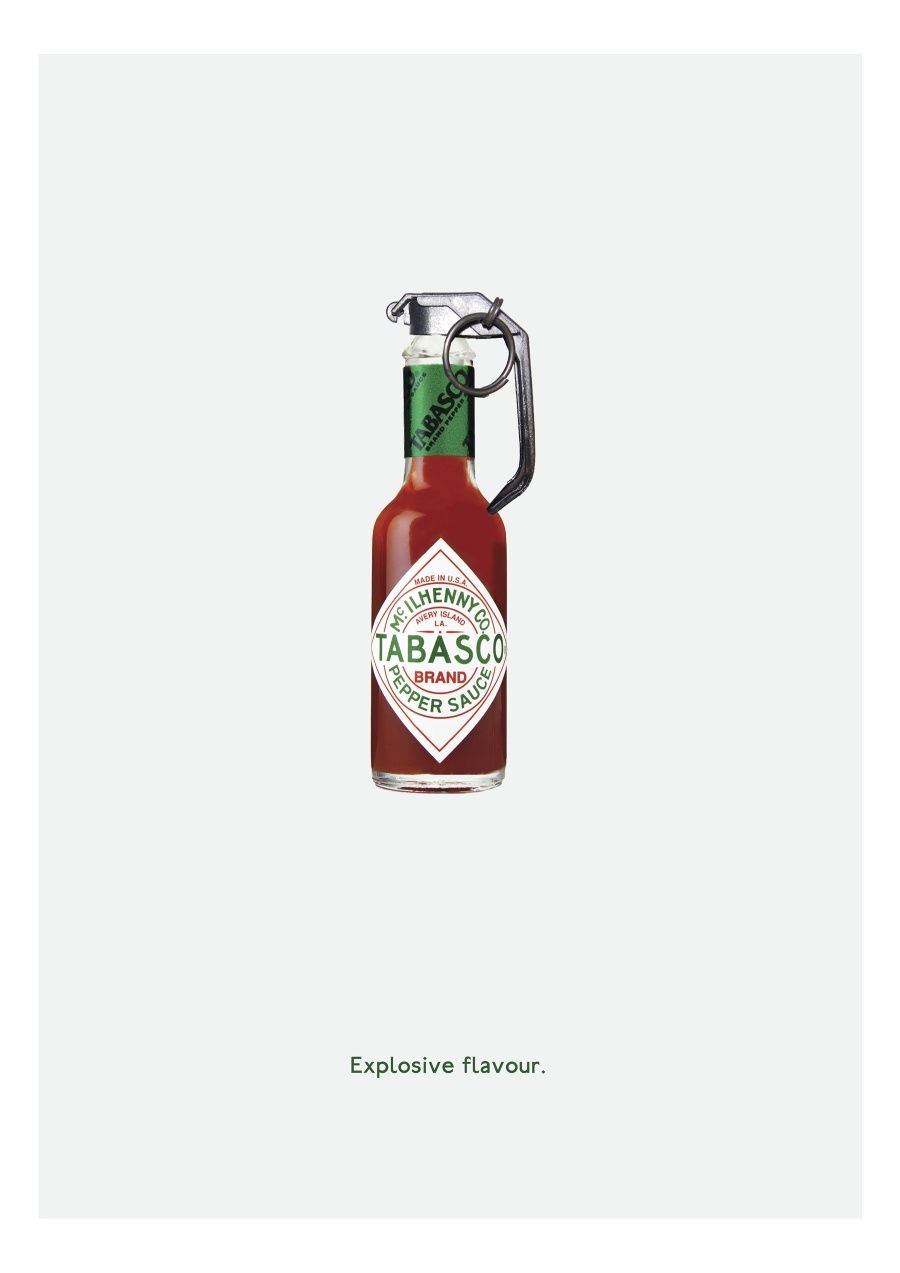 Explosive flavor :: #tabasco #ad | Ideas Direction | Pinterest ...