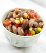 Pinto Bean Salad with Roasted Corn