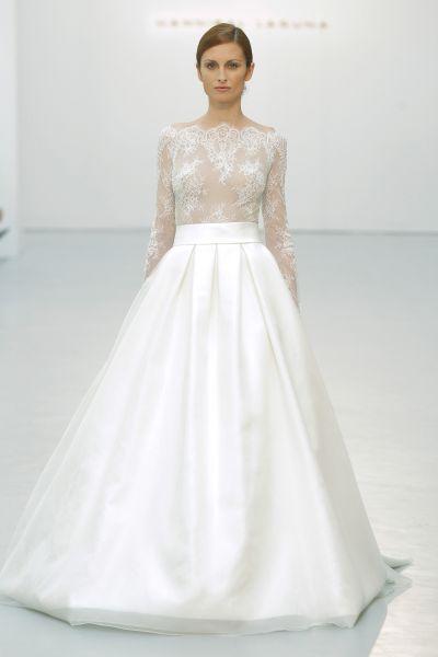 50 vestidos de noiva com corte princesa 2016  romantismo máximo! Image  0 bb3d1bb310