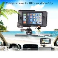 Heavy Hard case FOR IPhone5/5S Waterproof mobile phone Shell with Wide-angle Lens CASE BAG