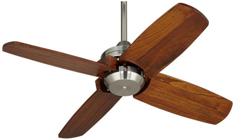 Casa Vieja Pronto Ceiling Fan 32 Brushed Nickel Ceiling Fan Brushed Nickel Ceiling Fan Ceiling Fans Without Lights
