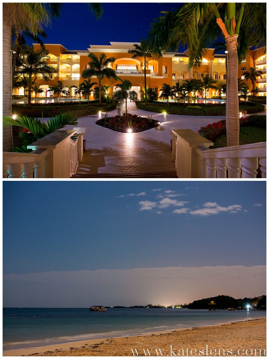 Night photos of resort; Montego Bay Jamaica Destination Wedding at ...