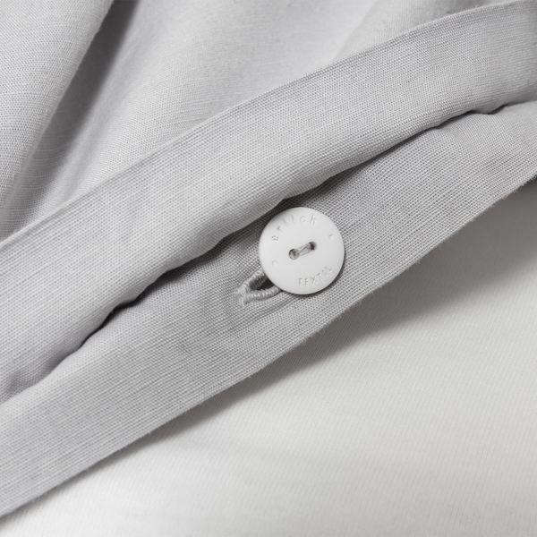 erlich textil Madita - Bettdeckenbezug Aus 80% Baumwolle (Kba) Und 20% Leinen