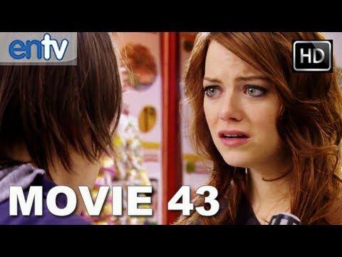 Movie 43 Green Band Trailer Hd Emma Stone Hugh Jackman Halle Berry Http Hagsharlotsheroines Com P 42859 Movie 43 Emma Stone Movies