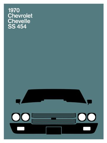 Print Collection – Chevrolet Chevelle SS 454, 1970