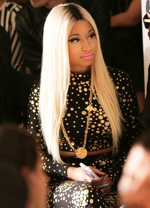 Nicki Minaj W Black Rooted Blonde Hair Hair Styles Hair