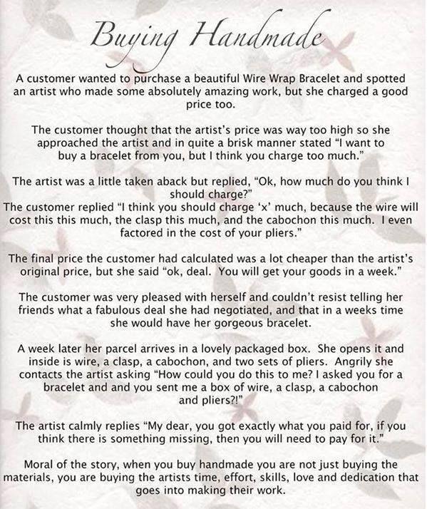 Buying Handmade Jax Designs Handmade Quotes Sayings