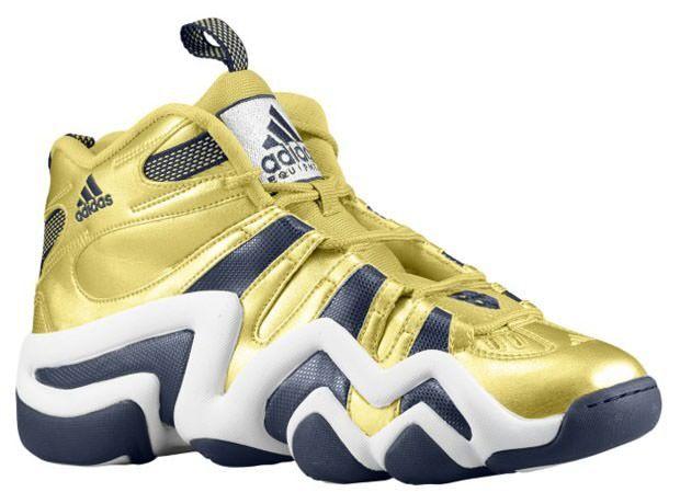 buy online 5284b d057e adidas crazy 8 gold navy white