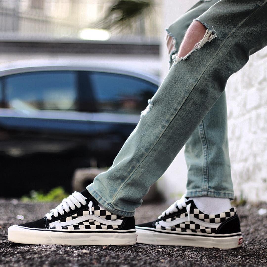 Vans Old Skool Checkerboard Vans Sneakers Vans Old Skool Vans
