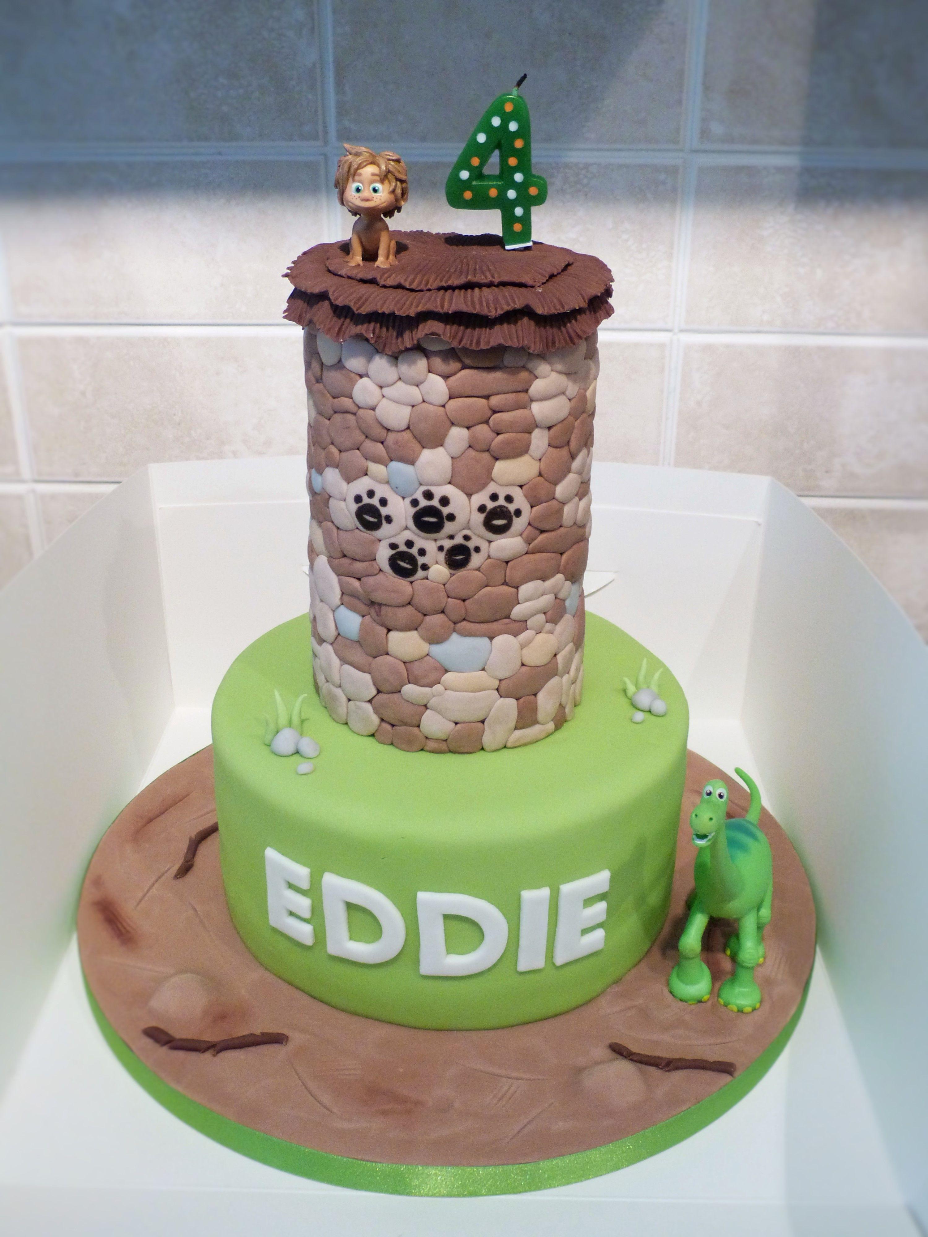 The Good Dinosaur cake Dinasours Pinterest Dinosaur cake Cake