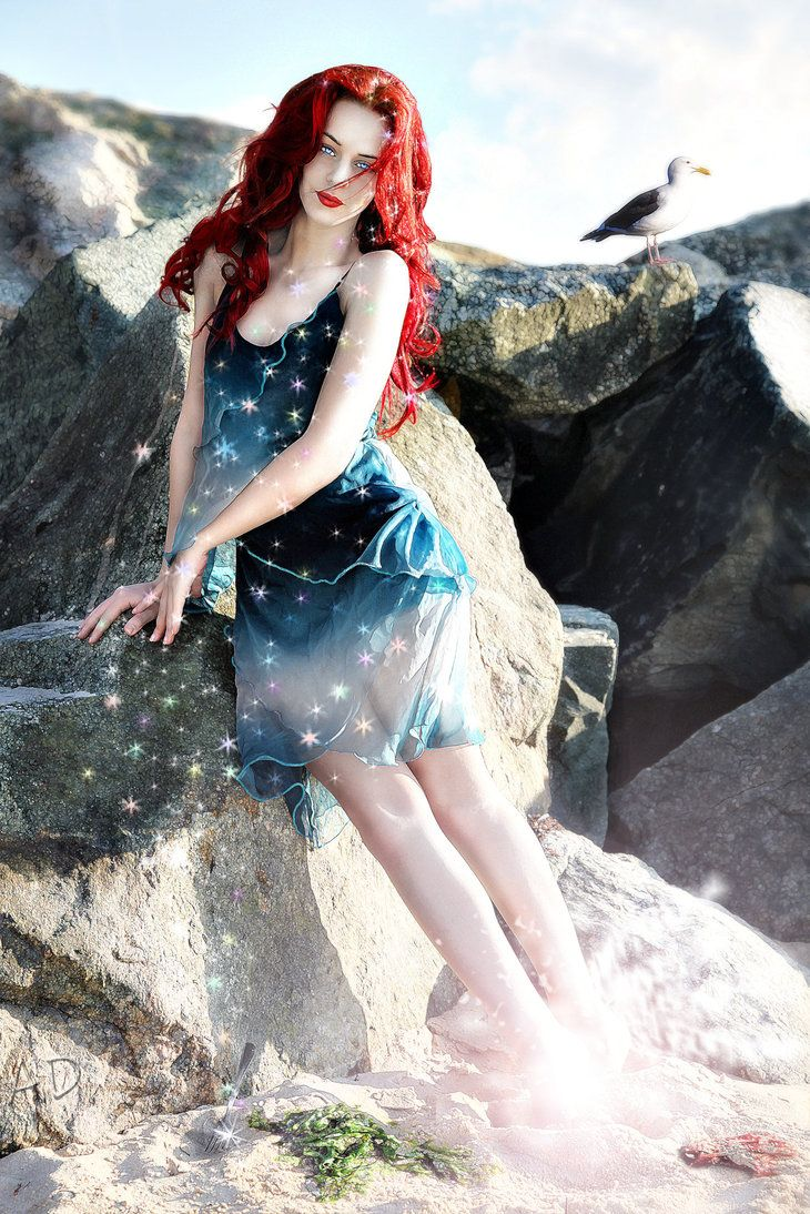 Ariel loses her fins by ~ iheartmanipulations on deviantART