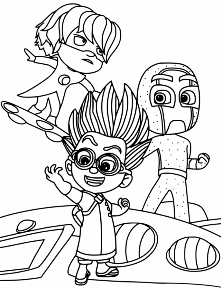 14 New Thoughts About Pj Masks Printable Coloring Pages ...