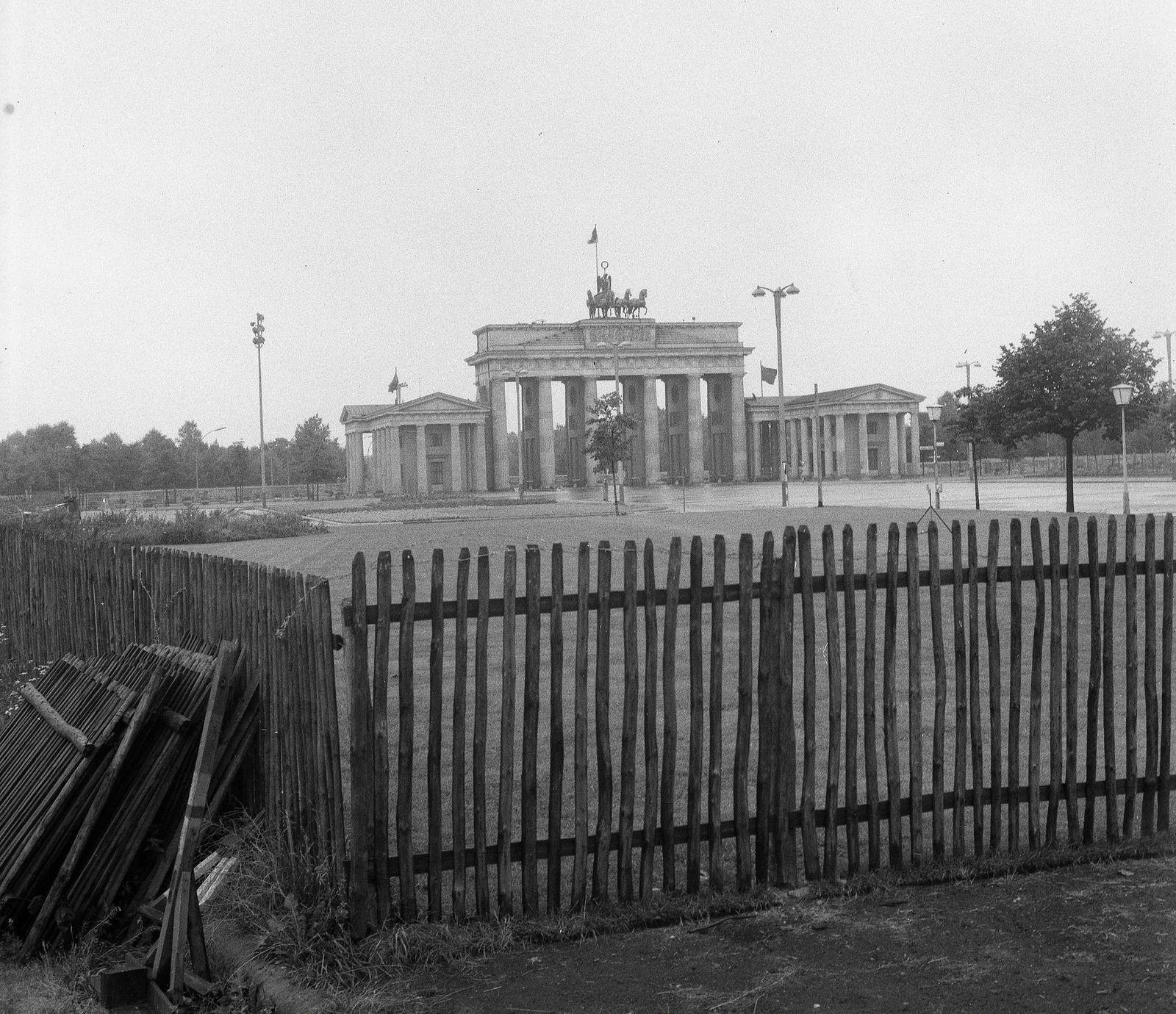 Fortepan 58477 West Berlin Berlin Berlin Wall