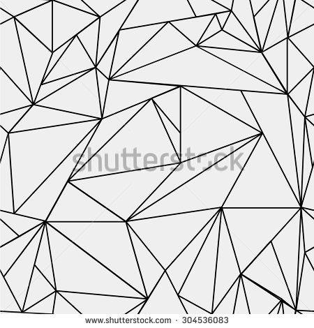 geometric simple black and white minimalistic pattern
