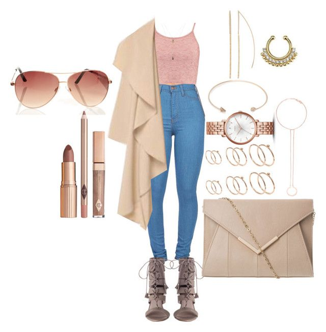 """""""Untitled #1396"""" by mrkr-lawson ❤ liked on Polyvore featuring Boohoo, Orelia, FOSSIL, LC Lauren Conrad, ASOS and Maria Black"""
