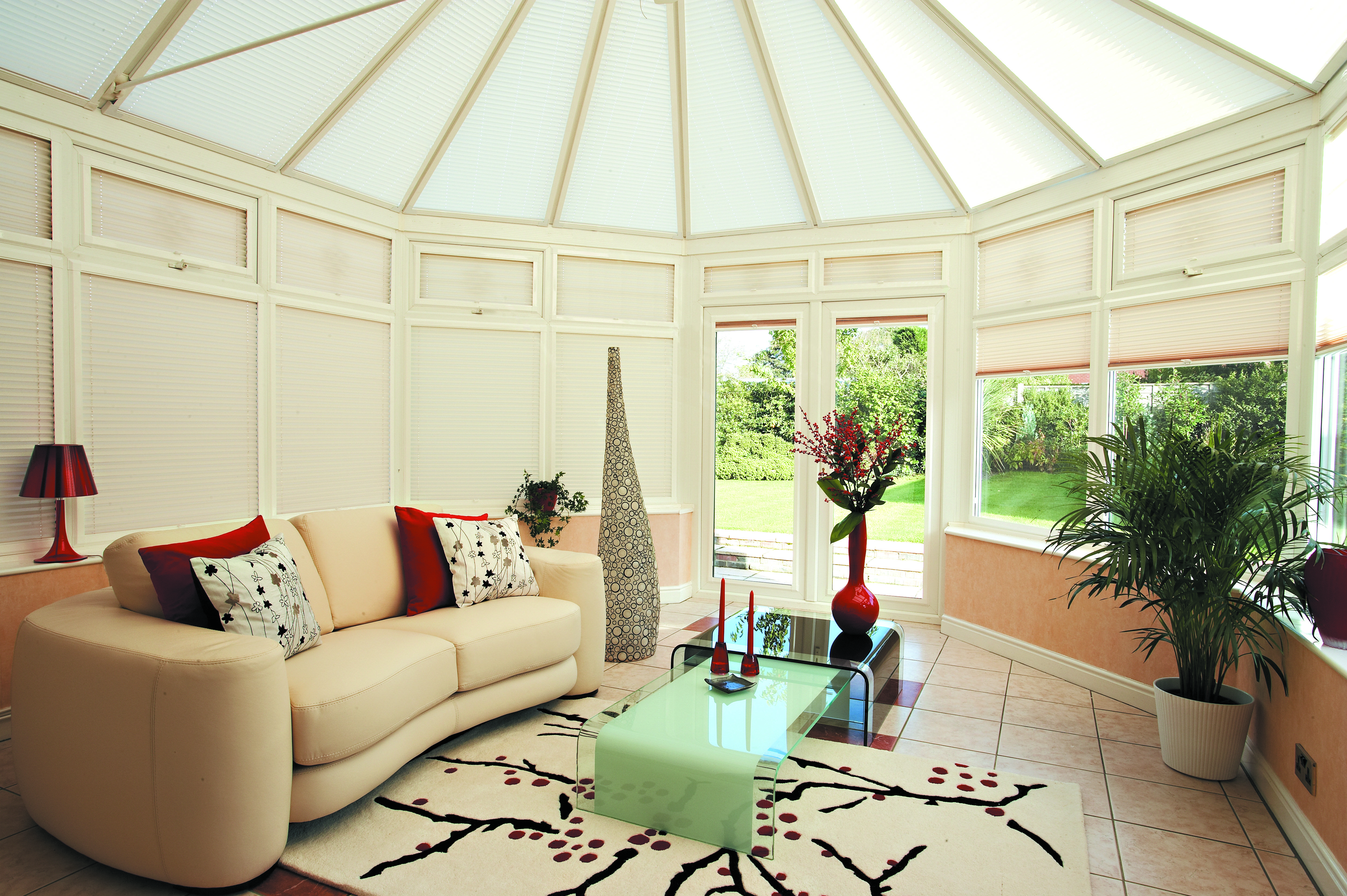 Fitted Conservatory Roof Blinds