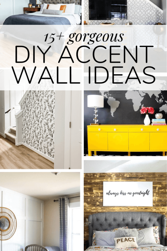 15 Gorgeous Accent Wall Ideas Love Renovations In 2020 Accent Wall Diy Accent Wall Diy Renovation
