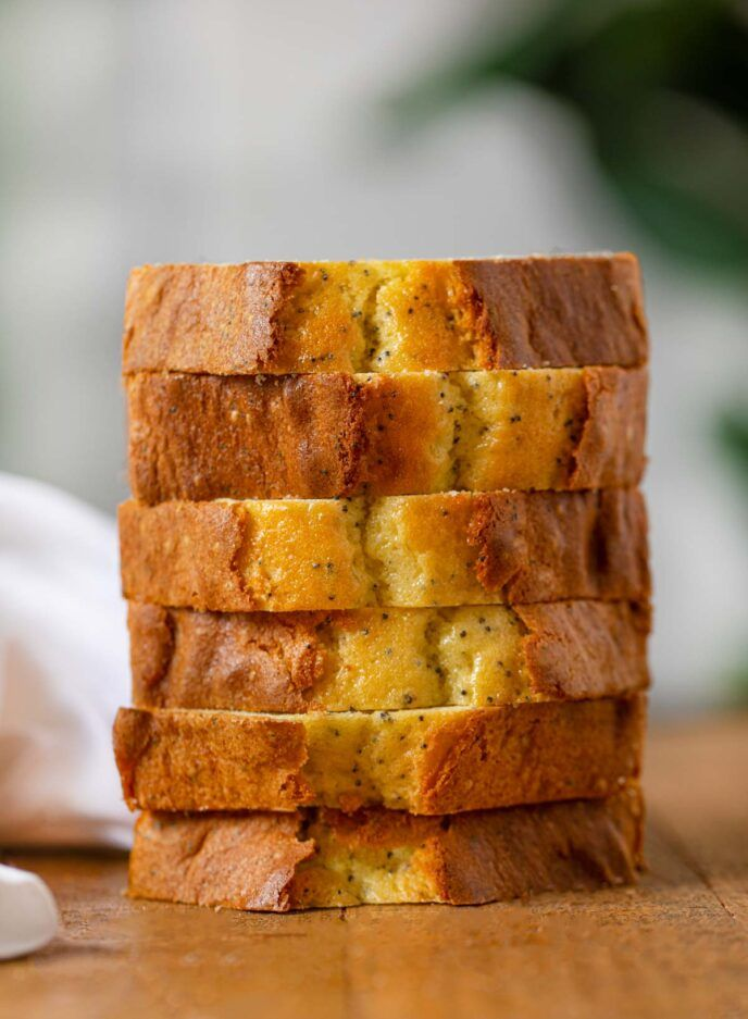 Poppy Seed Bread is the most delicious, sweet quick bread ...