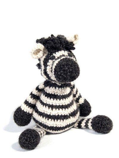 Crochet Zebra Amigurumi Pattern: British alpaca DK zebra. | Crochet ...