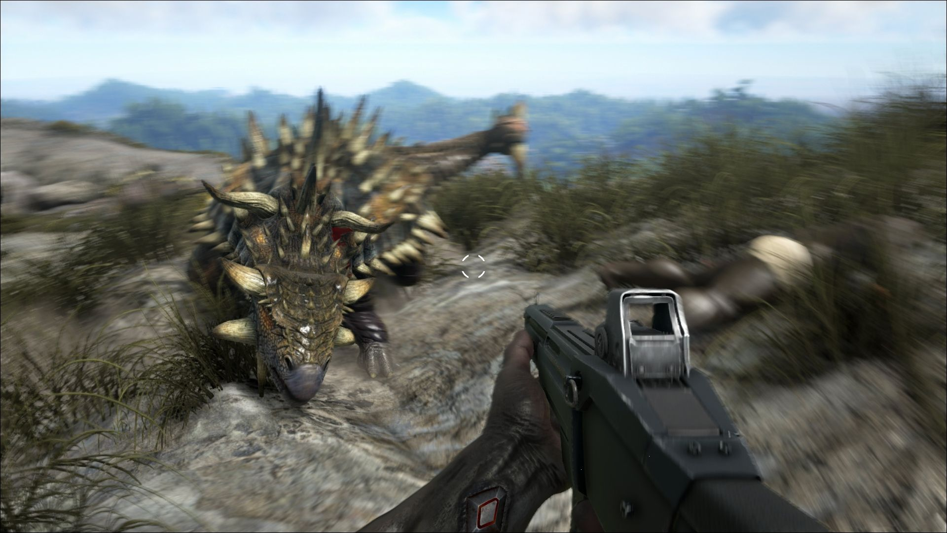 Ride dinosaurs in ARK Survival Evolved, coming soon to