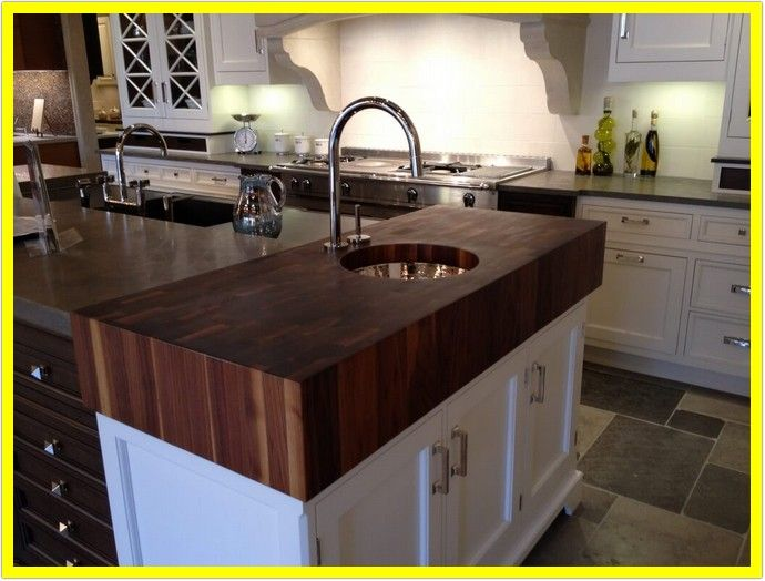 73 Reference Of 4 Thick Butcher Block Countertops In 2020 Walnut