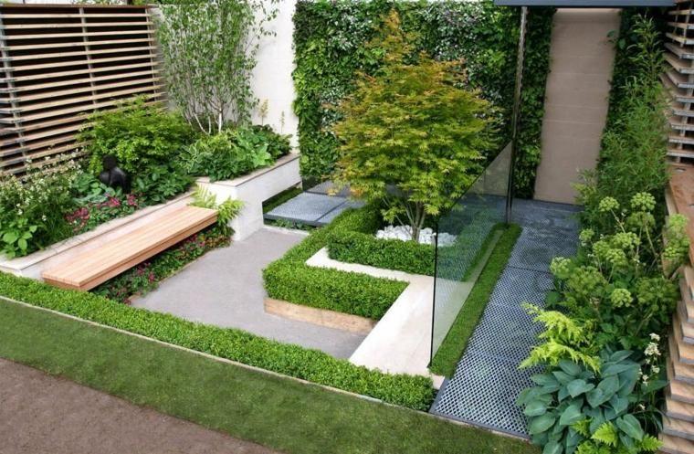 Aménagement extérieur maison : jardins d\'entrée modernes | Mini ...
