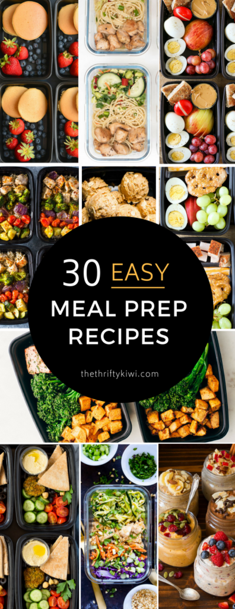 30 Cheap And Healthy Meal Prep Recipes The Thrifty Kiwi Cheap Healthy Meals Cheap Meal Prep Breakfast Meal Prep