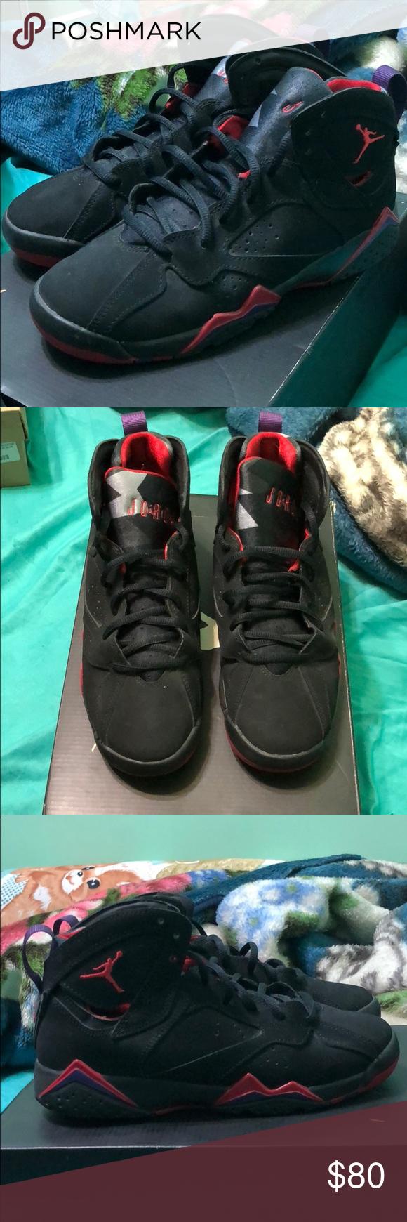 new product 5fa06 a6124 Air Jordan Retro 7 Raptors Worn a couple times 7/10 Size: 6 ...